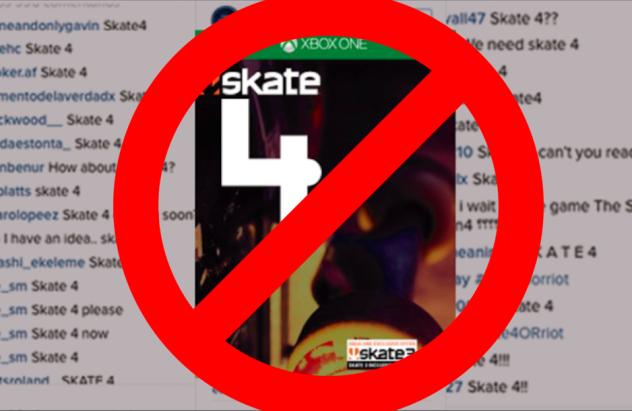 ea desmiente skate 4