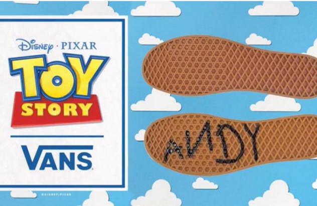vans toy story niño