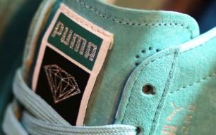 puma x diamond skate shoe