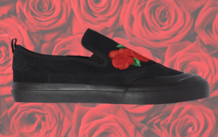 nakel smith adidas matchcourt slip black rose