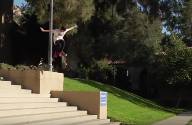 jeff dechesare actual skateboarding