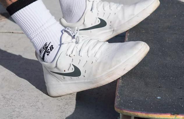 zapatillas nike sb blancas
