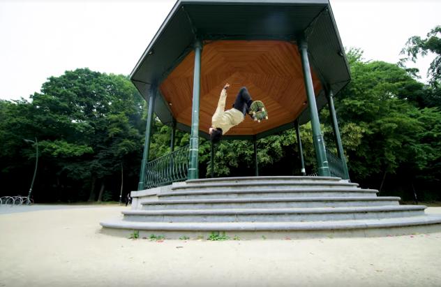 skate parkour bruselas